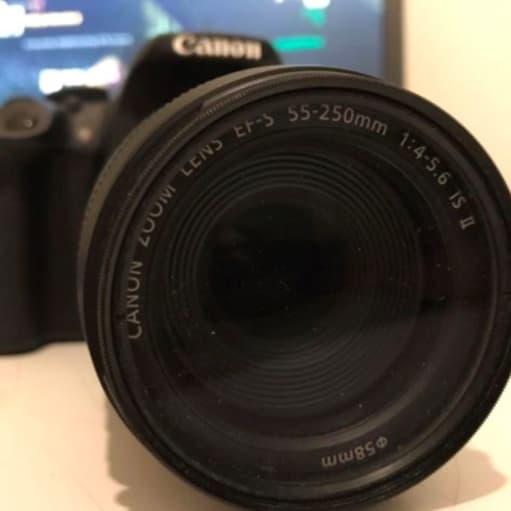 Canon, Canon EOS 700d, 55-250mm x optisk zoom, Perfekt, H...
