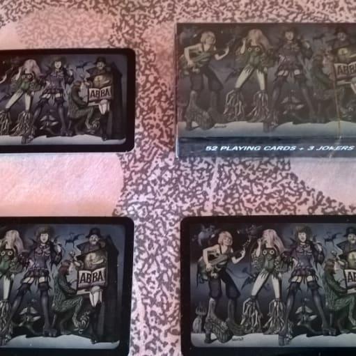ABBA spillekort