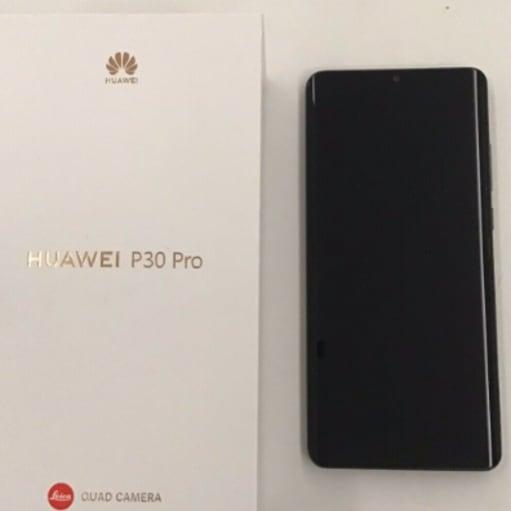 HUAEWI P30 pro 128gb (sort)