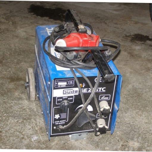 Elektrodesvejser, Gude GE235TC, Elektrodesvejser Gude GE2...