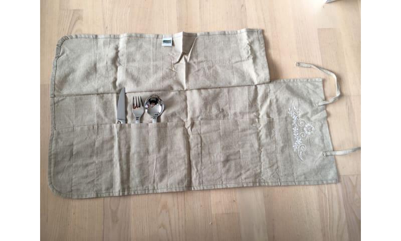 Bestikpose m. 12 lommer fra Inside