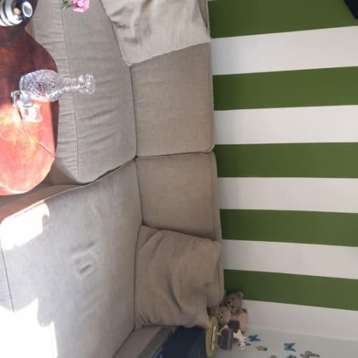 Super velholdt sofa