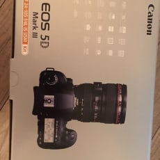 Canon EOS 5D Mark III 24-105mm EF-objektiv