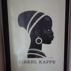 Cirkel kaffe billede