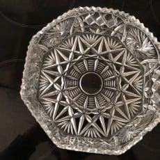 Krystalskål 20 cm. i diam.