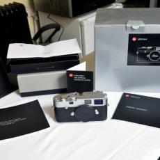 Leica M-A body sølv krom - meget sjælden