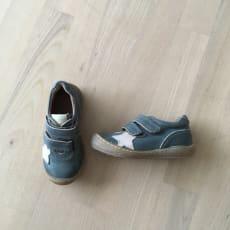 Bisgaard sko med velcro str. 23 - aldrig brugt