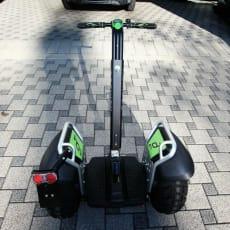 SEGWAY X2 SE, grøn udgave - aluminiumsfælge TOP !!