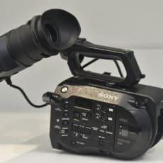 Sony XDCAM PXW-FS7 Videokamera - 4K - Sort