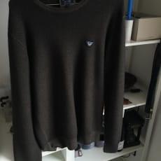 Vildt billig sweatshirt fra eksklusive Armani Jeans