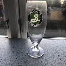 Ølglas fra Brooklyn Brewery 6 glas 50 kr