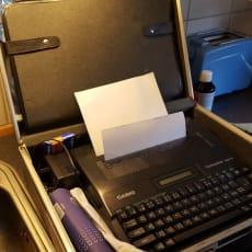 De første elektronisk skrivemaskiner