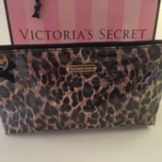 Victoria's Secret Cosmetic bag i leopard
