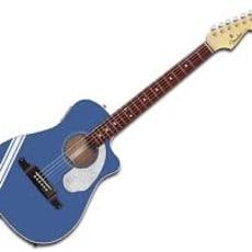 Fender FSR Malibu CE Med taske og capo
