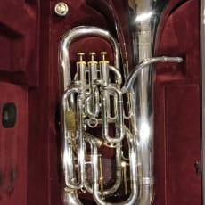 Besson Prestige Bb Euphonium forsølvet