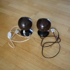 2 stk. E.S. Horn kuglelamper 100 kr/stk