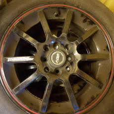 Chevrolet Lacetti alufælge