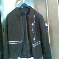 brun jakke