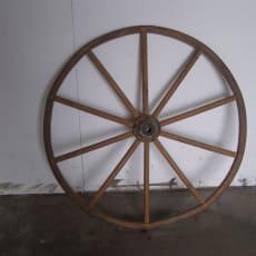 Andre samleobjekter, Barnevognshjul træ, Barnevognshjul i...