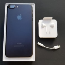 Apple iPhone 8 plus, 128gb, sort