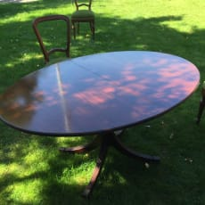 Mahogni spisebord