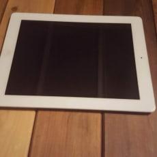 Hvid iPad 4 16GB virker perfekt
