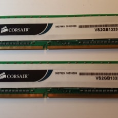 Corsair 4 GB (2 x 2gb) DDR3