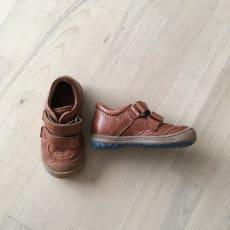Bisgaard sko med velcro str. 22 - aldrig brugt