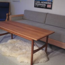 SOLGT!    Sofabord i teaktræ
