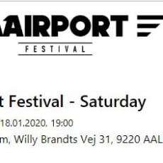 Billetter til Airport Festival for 2