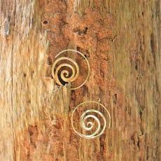 Indiske Spiral Øreringe