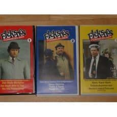 VHS videobånd med Fleksnes.