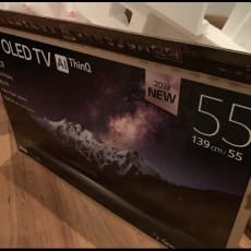 OLED UHD 4K LG c9 smart tv- som ny