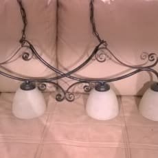 spisebords lampe