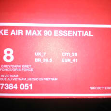 Nike Air Max 90 Essential (Dark Grey)
