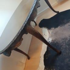 Gammelt træbord