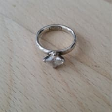 Ring i sølv fra Spinning