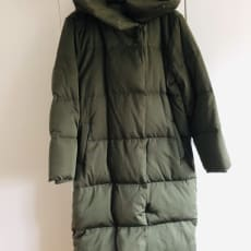 Ny dun frakke