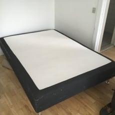 1½ seng, comfort, b: 140 l: 200 h: 43, Seng ink...