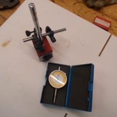 Diesella Måleur og magnetstander