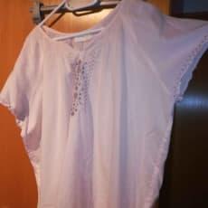 Sart rosa sommerlig T-shirt str 44 fra Units bm ca 2x70