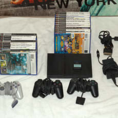 Playstation 2, Slim + 17 spil