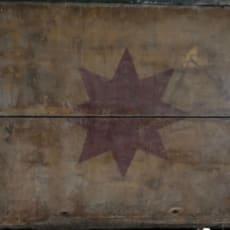 Træ øl kasse fra Bryggeriet Stjernen