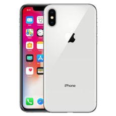 Iphone X sølv 256gb