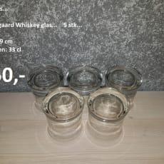 Holmegaards Whisky Glas