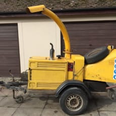 "Entec Timberwolf Kubota Diesel 150 6 ""wood chipper"