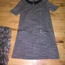 Smart kjole i str 34 - God stand, brugt 1 gang