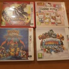 En Nintendo 2ds  med spil
