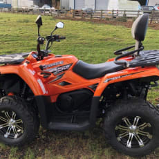 2018 Quadzilla Cforce 450 gård ATV