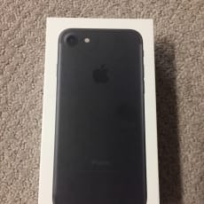 Apple iPhone 7 32GB Black A1660 Verizon Unlocked Clean ESN New